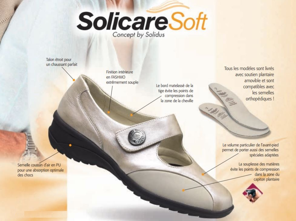solidus solicare soft chaussure
